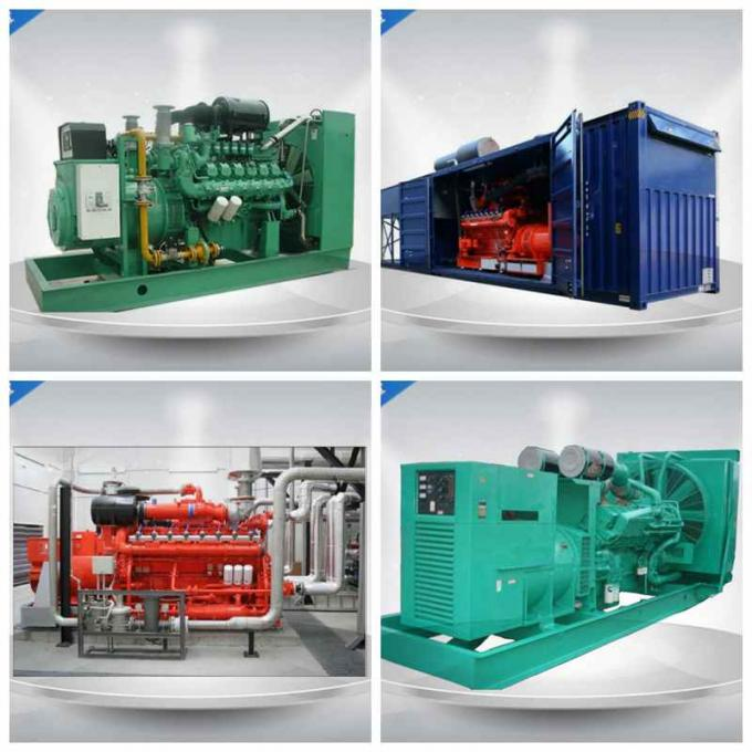 Electric Starting Gas Generator Set Waste Heat Recovery With Weichai Engine