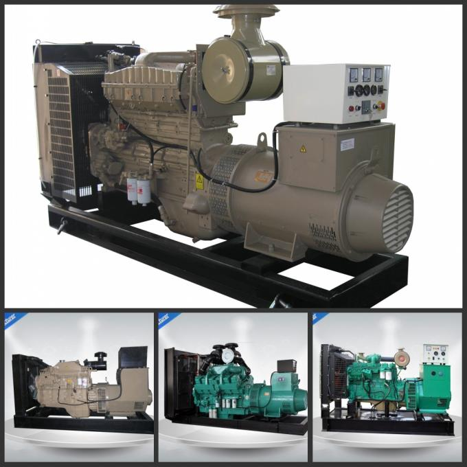 300Kw 375Kva 50HZ Canopy Genset Silent Generator Set Cummins Engine For Outside Projects GP C300-2