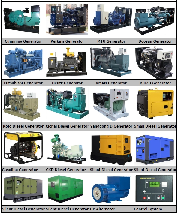 50Kw-500 Kw Three Phase Marine Diesel Genset With Sea Water Cooling System