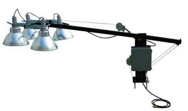 Canopy Mobile Lighting Tower , Portable Light Towers With 750W Solar Panels