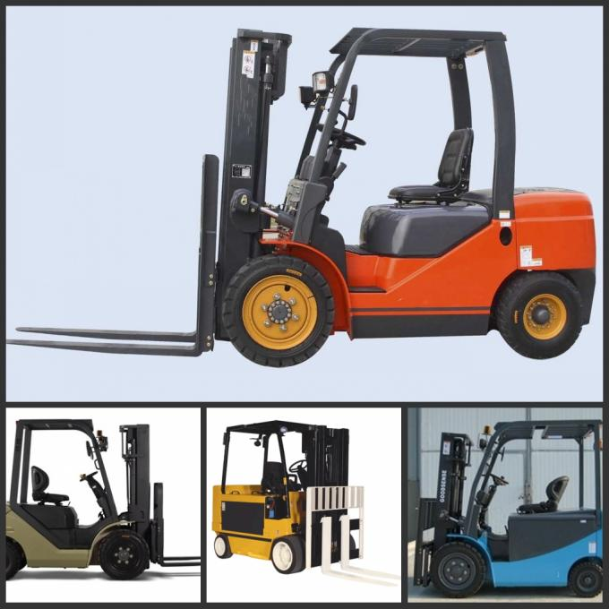 4 Directional Hyster Electric Forklift No Pollution Without Carbon Brush