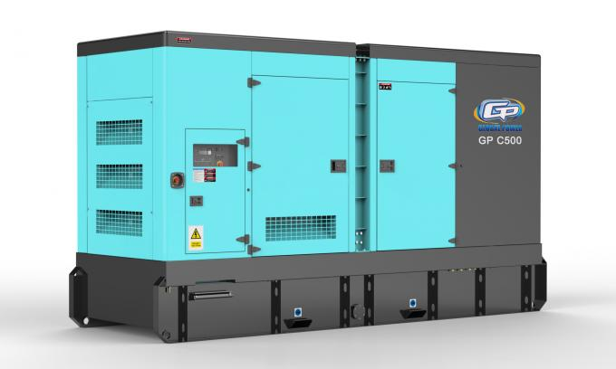 120kw 150kva Silent Diesel Generator Set with Perkins engine 1106A-70TAG2