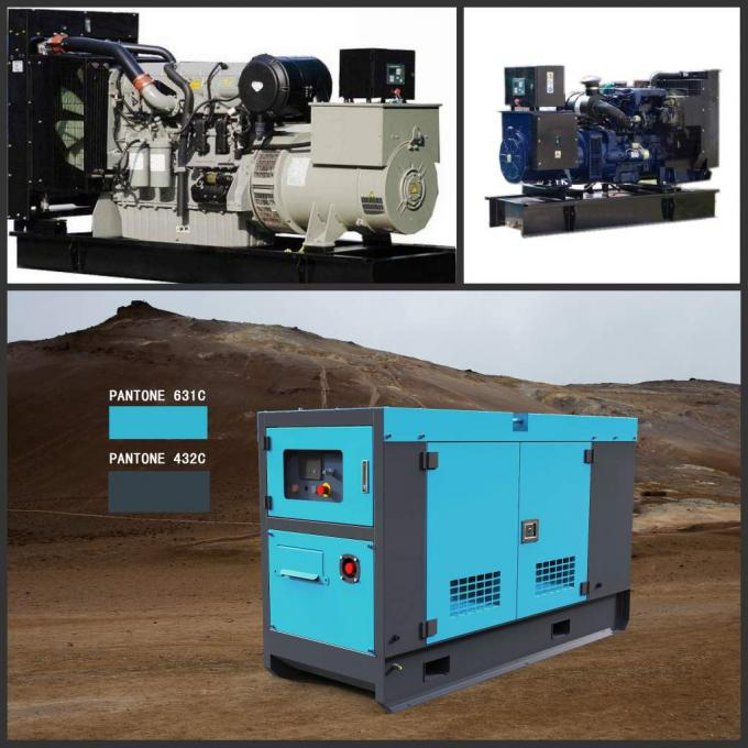 Perkins 2206C - E13tag2 Engine Drived Generator Set Diesel 280kw 350kva Electronic Genset