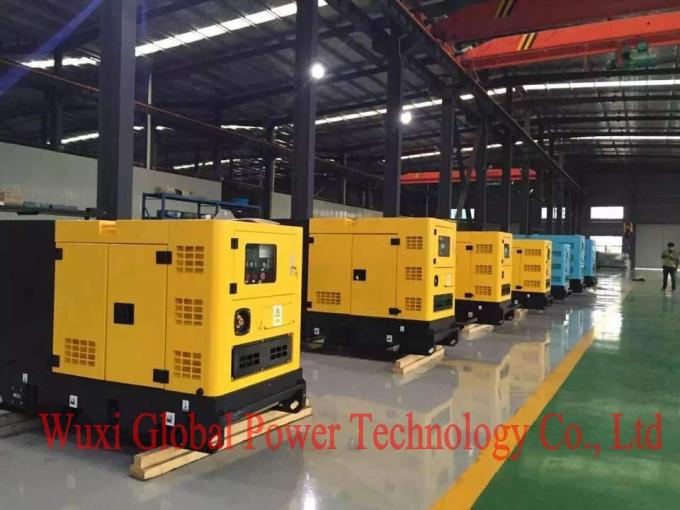 80 Kva Rated Power Open Diesel Generator With Customized Doosan Engine CE / ISO