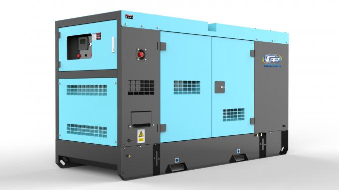 Emergency Diesel Power Generating Sets 24 KVA / 30 KVA Perkins Engine For Buildings