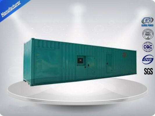 چین 16 Cylinder Container Generator Set 1480-1850 Kw/Kva With Perkins Diesel Engine تامین کننده