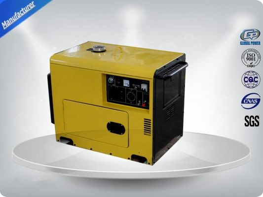 چین Gasoline Engine Generator Set 7.0-7.5 kw / kva , Portable Genset For Rent تامین کننده