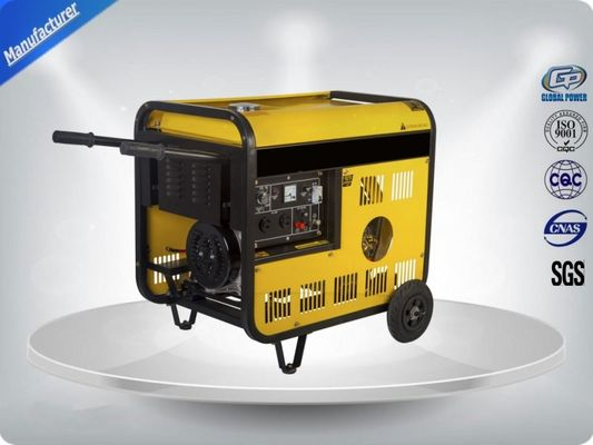 چین 11 Kva Low Noise Portable Generator Set Vertical 97 dB With Open Frame تامین کننده