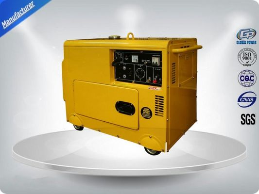 چین Three Loops 3 Phase Portable Generator Set 72 dB With Digital Panel , Silent Frame تامین کننده
