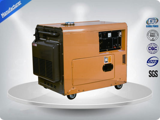 چین Residential Electric Start Portable Generator Direct Injection Self - Excitation تامین کننده
