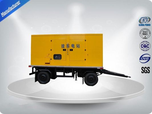 چین 750Kva 50 Hz 3 Phase Silent Trailer Mounted Generator With Mecc - Alte Alternator تامین کننده