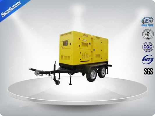 چین 320Kw Diesel Trailer Generator Self - Exciting Powered By Perkins Engine تامین کننده