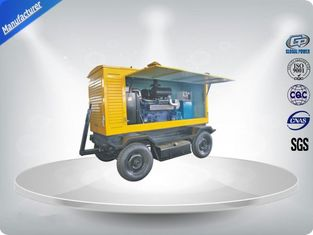 چین Brushless Quiet Running Mobile Generators Trailer Mounted Class H Insulation 300Kva تامین کننده