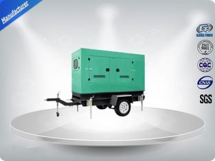 چین Noise Proof Industrial Trailer Mounted Generator 6 Cylinder For Residential تامین کننده