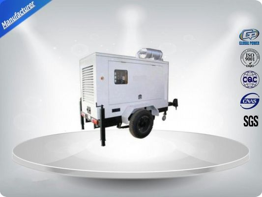 چین Brushless Silent Genset Trailer 4 Cylinder Prime Power 50Kw / 63Kva Water - Cooling تامین کننده