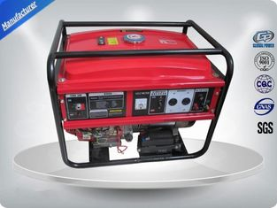 چین 5kw Portable 3000rpm Gasoline Generator Set Low Noise With AVR تامین کننده