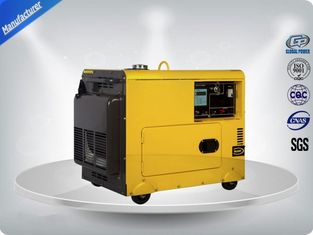 چین 4.5kva Silent Diesel Generator For  Home Use 3 Phase Portable Generator Set 72 dB With Digital Panel , Silent Frame تامین کننده