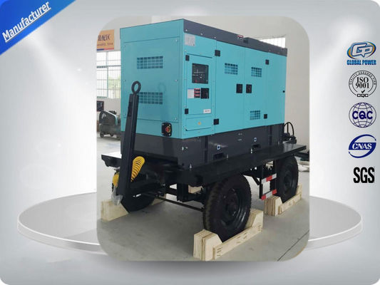 چین Water Cooled 50kw / 62.5kva Portable Diesel Generator With Cold Sheet Silent Canopy تامین کننده