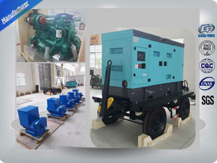 چین Global Cummins Power Generators Diesel Engine Trailer Generator 200kw For Outdoor Working تامین کننده