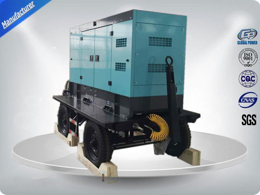 چین 80kw 100kva Silent Type Trailer Mounted Generator With Cummins / Perkins Diesel Engine تامین کننده