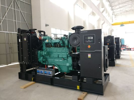 چین 250kva Open Type Natural Gas Generator Set With Original Cummins Engine , Stamford Alternator تامین کننده