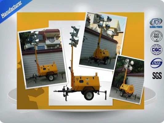 چین Trailer Mounted Light Towers توزیع کننده
