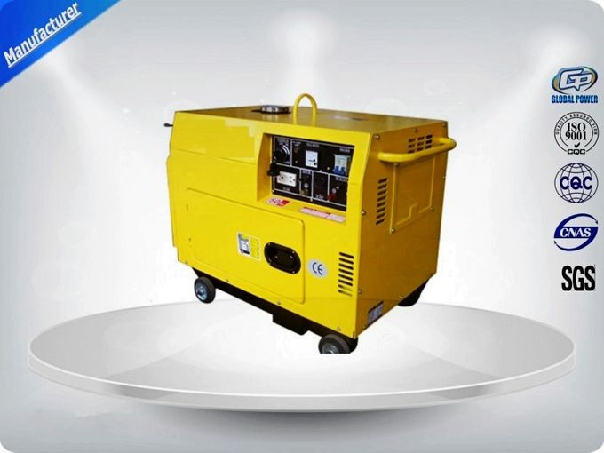 Lightweight  Portable Backup Generator B Insulation Class 5.7 Kw Rated Power
