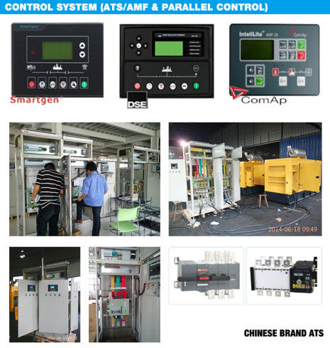 90kw Diesel Generator Set With Atomatic Alarm System , Insulation Class H